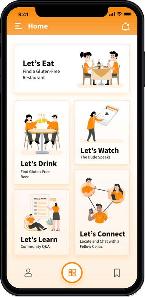 celiac mobile app