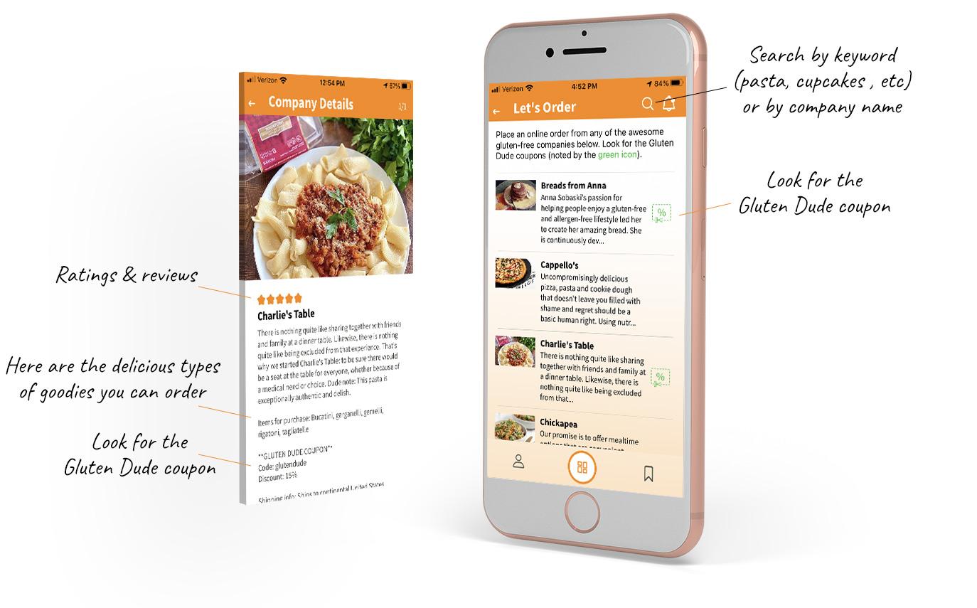 online gluten free companies